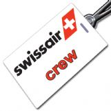 SWISSAIR Retro Crew Tag